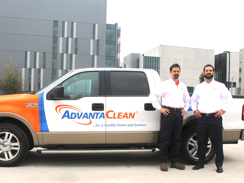 AdvantaClean Franchise Vehicle