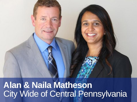 City Wide Franchise Owners Alan & Naila Matheson