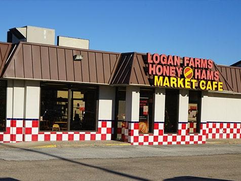 Outside a Logan Farms Franchise