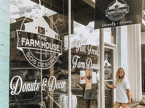 Open The Farmhouse Donuts and Decor Franchise
