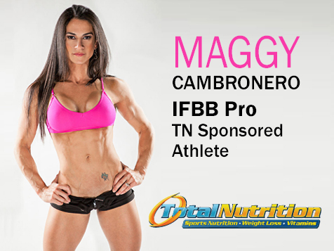 Total Nutrition Superstores® Franchise sponsors Maggy Cambronero