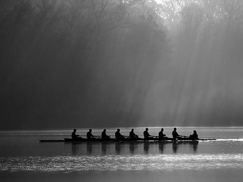 Row House Franchise - Rowing Outside