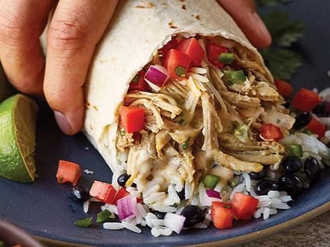 QDOBA Mexican Burrito