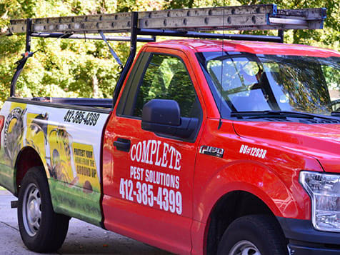 Complete Pest Solutions Custom Truck