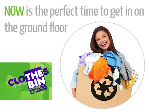 Own a Clothes Bin Franchise