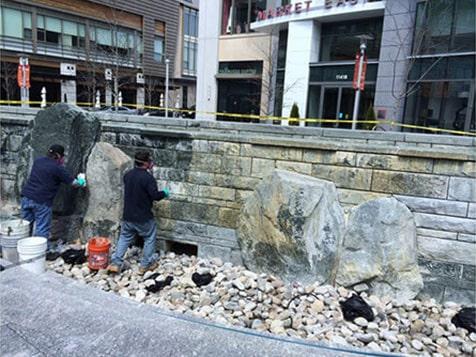 CSCI exterior restoration