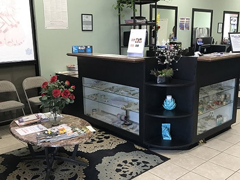 Touch n Glow Studio Franchise Front Desk