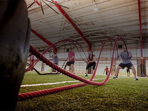 D1 Sports Training Franchise - ropes