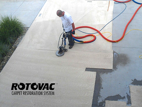 Rotovac Carpet Restoration Business