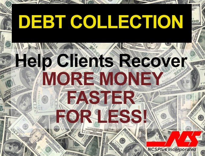 NCSPlus Inc. Business Opportunity Debt Collection