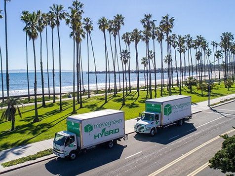 MoveGreen Franchise Trucks