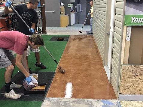 Garage Force Franchise - hands on training