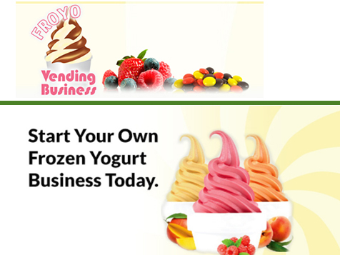 FroYo Vending Business - Consumers Prefer Frozen Yogurt