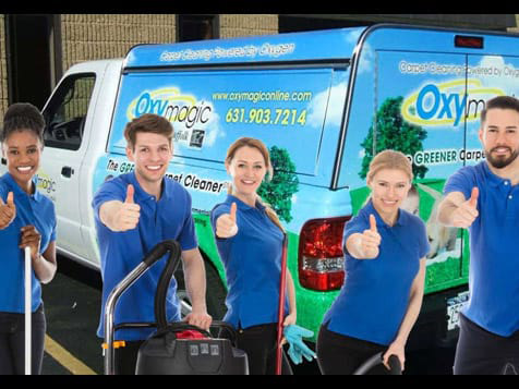 Oxymagic Carpet Cleaning Franchise Employees
