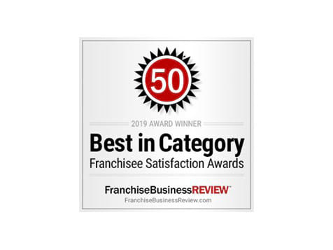MaidPro Franchise Best In Category Award