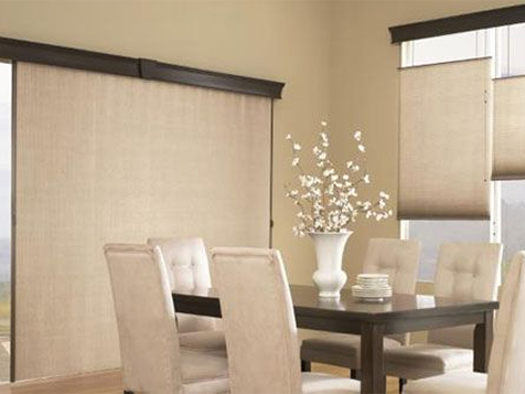 Budget Blinds Franchise Decorates Living Room