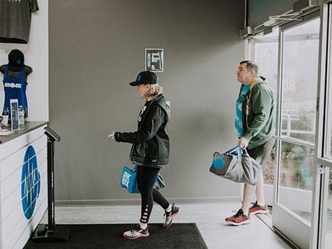 Rockbox Fitness Franchise Entrance