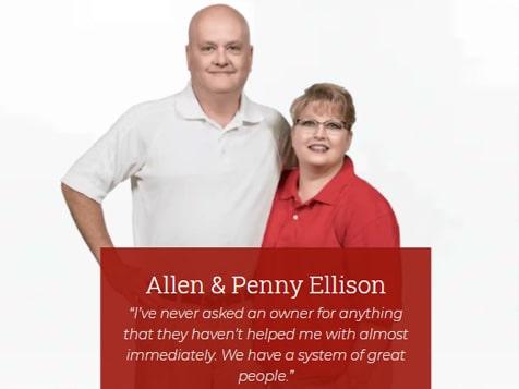 Mr. Handyman Franchisees Allen & Penny Ellison