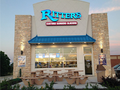 Outside a Ritter