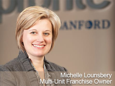 Michelle Lounsbery, Profile by Sanford Franchisee