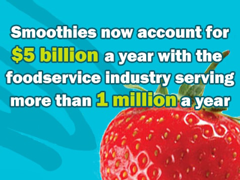 Planet Smoothie food service statistics