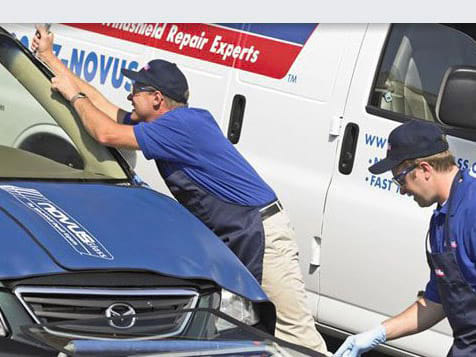NOVUS Auto Glass Repair & Replacement Service Call