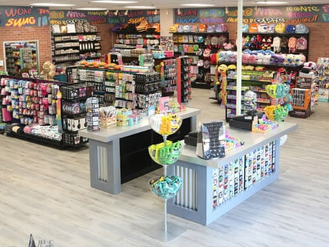 Teen Store Layout