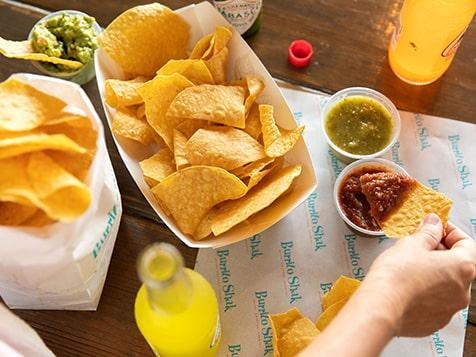 Burrito Shak Franchise appetizer