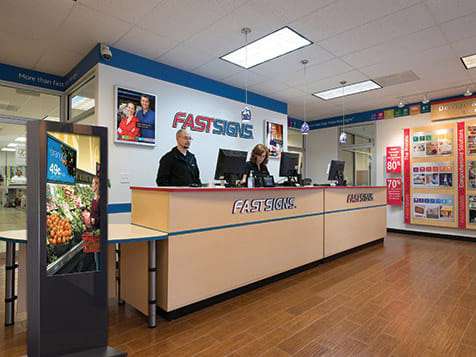 Inside a FASTSIGNS Franchise