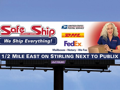 Safe Ship Franchise Shipping & Packing Team