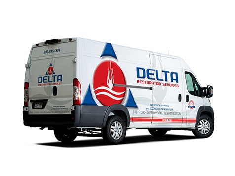 Delta Restoration Franchise Van
