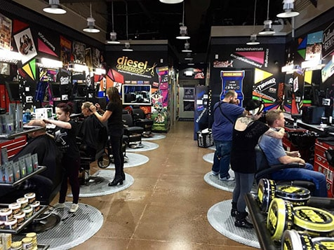 Diesel Barbershop Franchise Customers