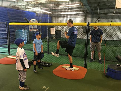 The Hitting Academy Franchise Pitching Lesson