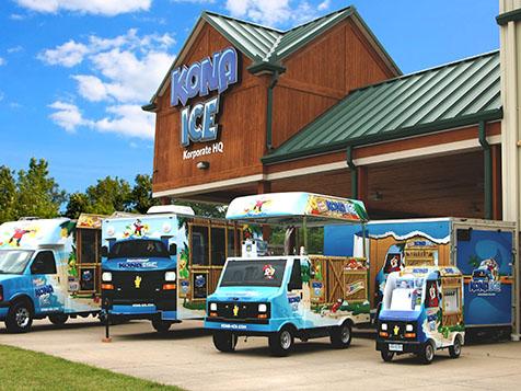 Kona Ice Franchise Vehicles