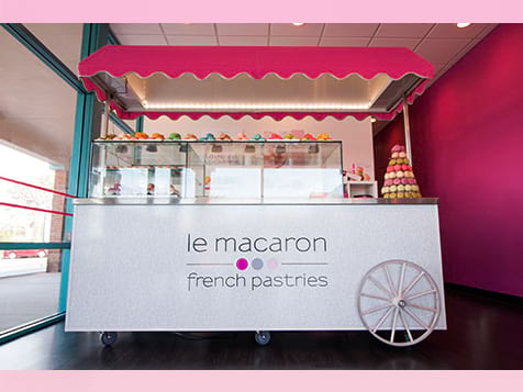Le Macaron French Pastries Franchise Cart