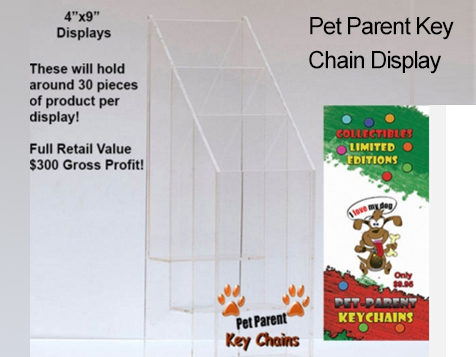 Pet Parent Key Chains Business is flexible and low stress