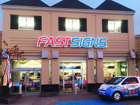 Open a FASTSIGNS Franchise