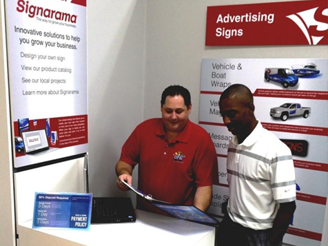 A Signarama franchise consultation