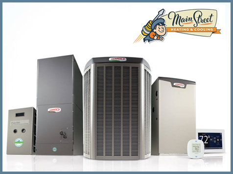 Main Street Heating & Cooling franchise quality products