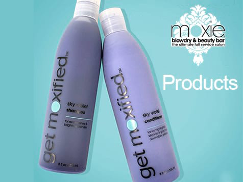 Moxie Blowdry & Beauty Bar Franchise Products