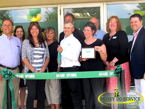 The HONEY DO SERVICE, Inc. Franchise grand opening