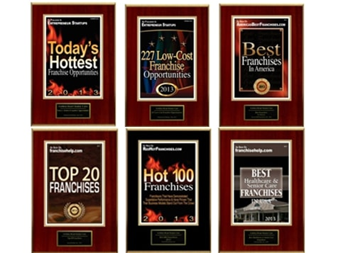 Golden Heart Senior Care Franchise Recognitions