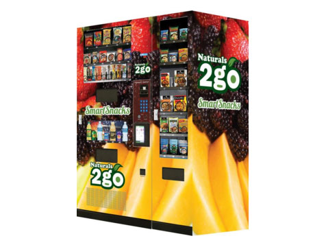 A Naturals 2 Go Business Opportunity vending machine