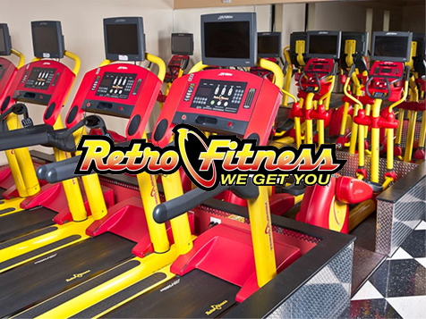 Retro Fitness franchise equipment
