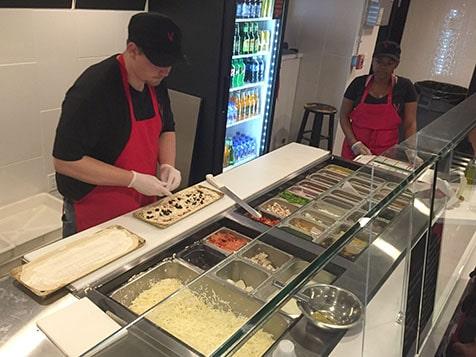 V3 Flatbread Pizza Line