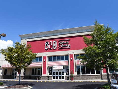 810 Billiards & Bowling Franchise Exterior