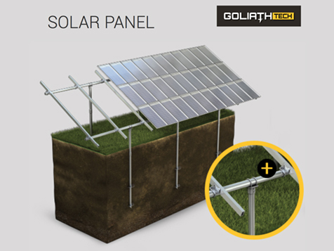 GoliathTech Corp Franchise Solar Panel Support