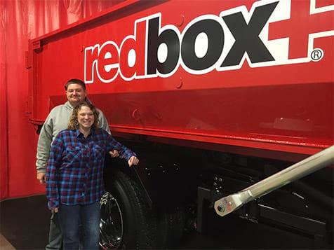 redbox+ waste management franchise