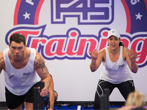 F45 Training Franchise Fitness Session