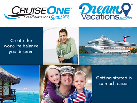Create a balance in your life with a CruiseOne franchise